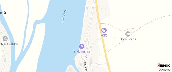 Улица Куйбышева на карте Кировского поселка с номерами домов