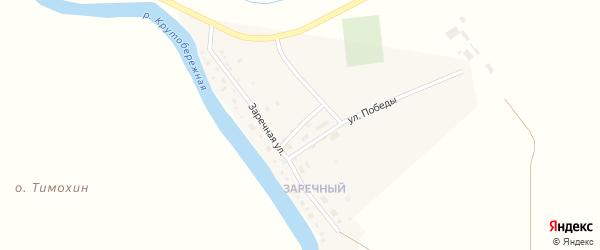 Дорожная улица на карте Камызяка с номерами домов