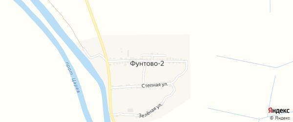 1 Мая улица на карте села Фунтово-2 Астраханской области с номерами домов