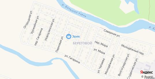 Строительная улица в Новоузенске с номерами домов на карте. Спутник и схема онлайн