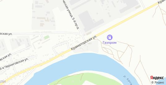 Краматорская улица в Астрахани с номерами домов на карте. Спутник и схема онлайн