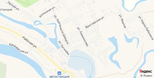 Вольская улица в Новоузенске с номерами домов на карте. Спутник и схема онлайн