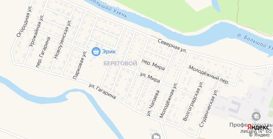 Улица З.Космодемьянской в Новоузенске с номерами домов на карте. Спутник и схема онлайн