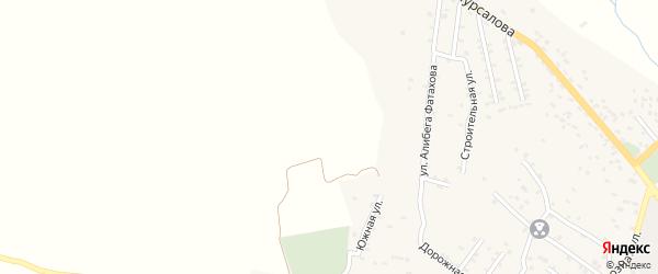 Молодежная 5-я улица на карте села Ашагастала-Казмаляра Дагестана с номерами домов