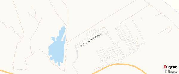 Садовое товарищество Мечта на карте Астрахани с номерами домов