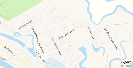 Ярославская улица в Новоузенске с номерами домов на карте. Спутник и схема онлайн