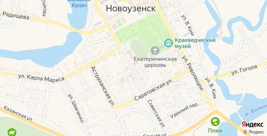 Пролетарская улица в Новоузенске с номерами домов на карте. Спутник и схема онлайн