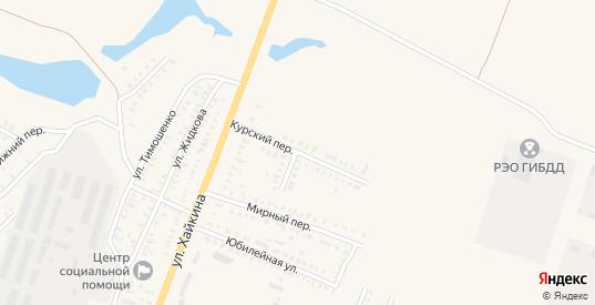 Курский переулок в Новоузенске с номерами домов на карте. Спутник и схема онлайн