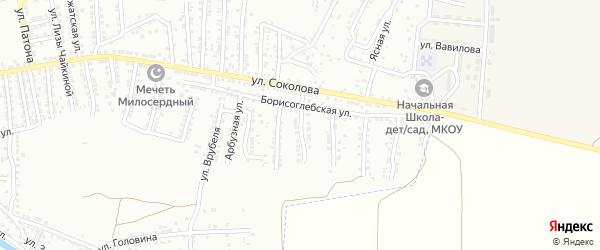 Шуйская улица на карте Астрахани с номерами домов