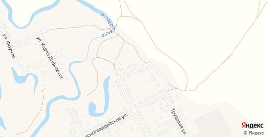 Орловский переулок в Новоузенске с номерами домов на карте. Спутник и схема онлайн