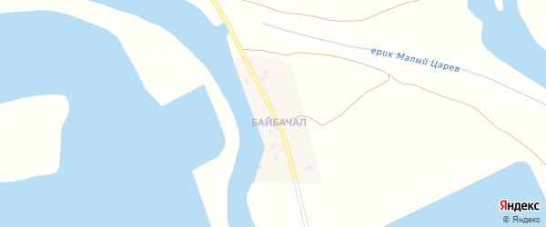 Улица П.Русанова на карте села Фунтово-2 Астраханской области с номерами домов