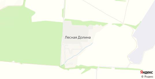 Карта поселка Лесная Долина в Ульяновске с улицами, домами и почтовыми отделениями со спутника онлайн