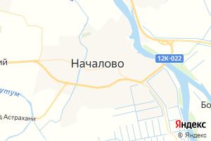 Карта с. Началово Астраханская область