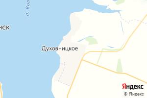 Карта пгт Духовницкое Саратовская область