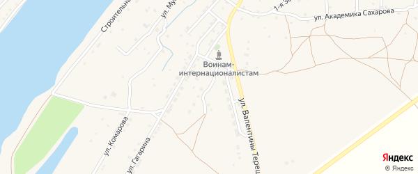Майская улица на карте села Килинчи с номерами домов