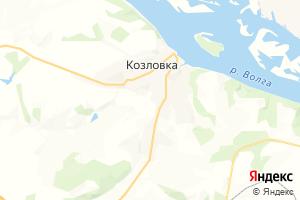 Карта г. Козловка Чувашская Республика