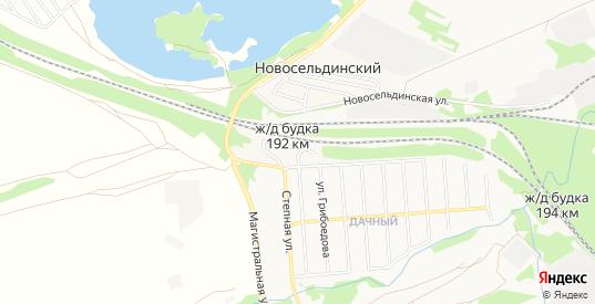 Карта железнодорожной будки 192 км в Ульяновске с улицами, домами и почтовыми отделениями со спутника онлайн