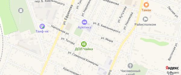 Улица Р.Люксембург на карте Буинска с номерами домов