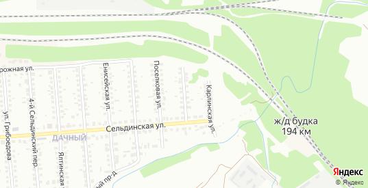Сельдинский 1-й переулок в Ульяновске с номерами домов на карте. Спутник и схема онлайн