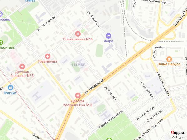 Ульяновск карта проституток