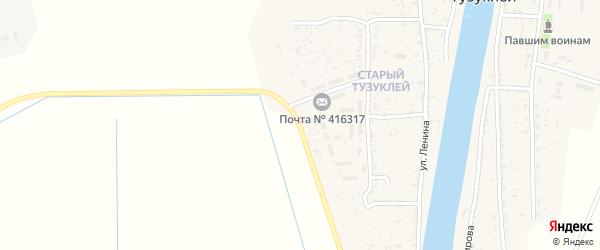 Улица Проспект Ильича на карте села Тузуклей Астраханской области с номерами домов