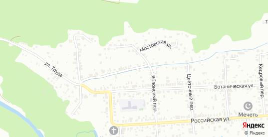 Переулок Героев Труда в Ульяновске с номерами домов на карте. Спутник и схема онлайн