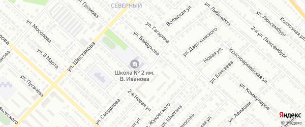 Улица Свердлова на карте Волжска с номерами домов
