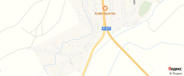 Улица Сулеймана Стальского на карте села Газарда-Казмаляра Дагестана с номерами домов