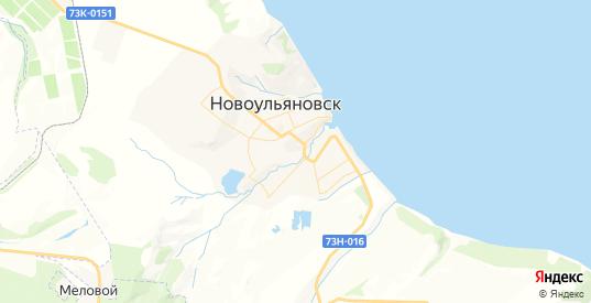 Карта Новоульяновска с улицами и домами подробная. Показать со спутника номера домов онлайн