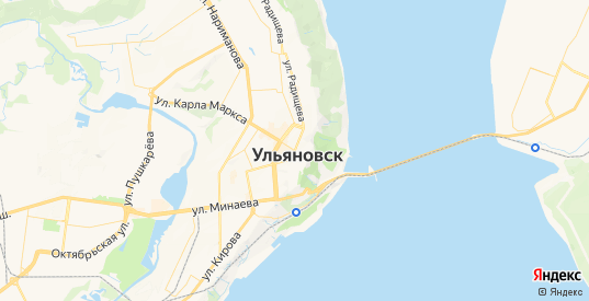 Карта Ульяновска с улицами и домами подробная. Показать со спутника номера домов онлайн