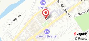 Контрольно счетная палата Сызранского района Самарской области  Органы государственного надзора Контрольно счетная палата Сызранского района Самарской области на карте Сызрани