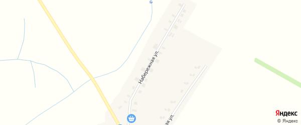 Набережная улица на карте деревни Чекмари Кировской области с номерами домов