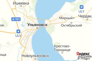 Карта г. Ульяновск Ульяновская область