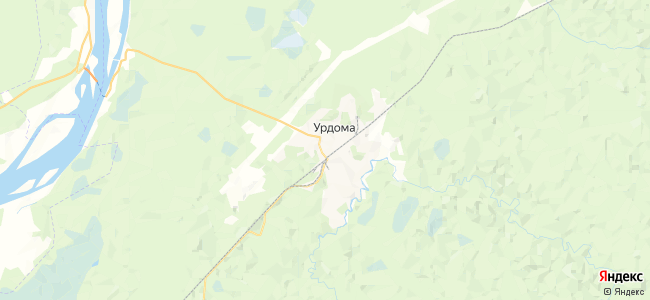 Урдома на карте