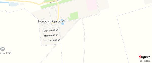 Карта Михайловского поселка в Саратовской области с улицами и номерами домов