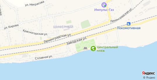 Заводская улица в Октябрьске с номерами домов на карте. Спутник и схема онлайн