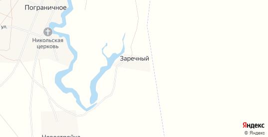 Карта хутора Заречный в Саратовской области с улицами, домами и почтовыми отделениями со спутника онлайн