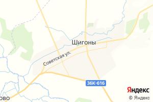 Карта с. Шигоны