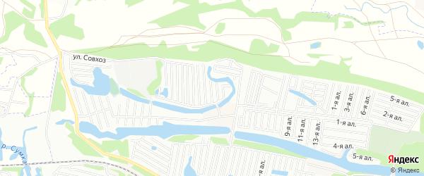 Карта поселка Подлесное(Зел.молкомбинат) в Татарстане с улицами и номерами домов