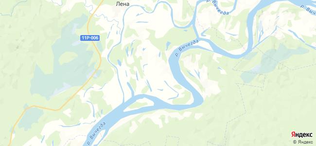 Ошмановская на карте