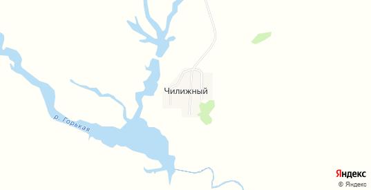 Карта хутора Чилижный в Саратовской области с улицами, домами и почтовыми отделениями со спутника онлайн