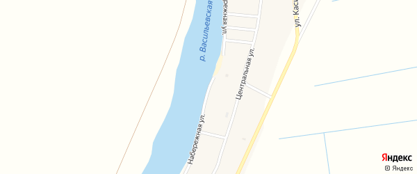 Набережная улица на карте села Мултаново с номерами домов