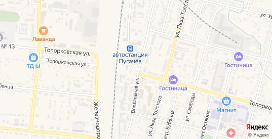 Территория сдт Медик в Пугачеве с номерами домов на карте. Спутник и схема онлайн