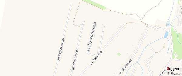 Улица Дружбы Народов на карте Тетюшей с номерами домов