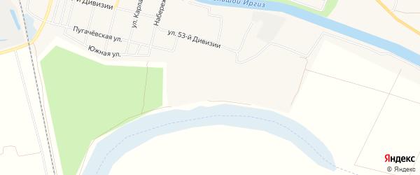 Территория сдт Южное на карте Пугачева с номерами домов