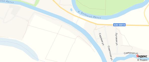 Территория сдт Ромашка (ПМК-2) на карте Пугачева с номерами домов