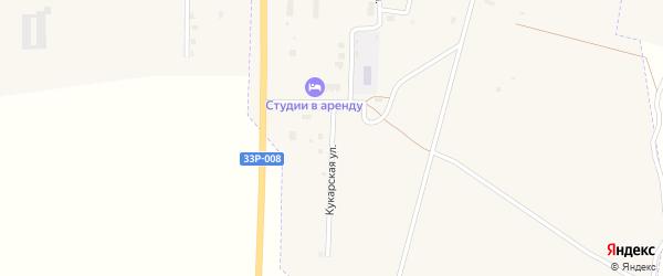 Кукарская улица на карте Советска с номерами домов