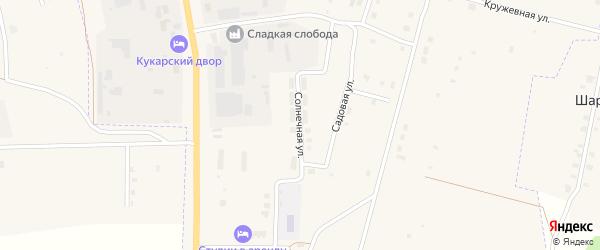 Солнечная улица на карте Советска с номерами домов