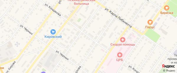 Улица Кондакова на карте Советска с номерами домов