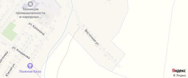 Восточная улица на карте Советска с номерами домов